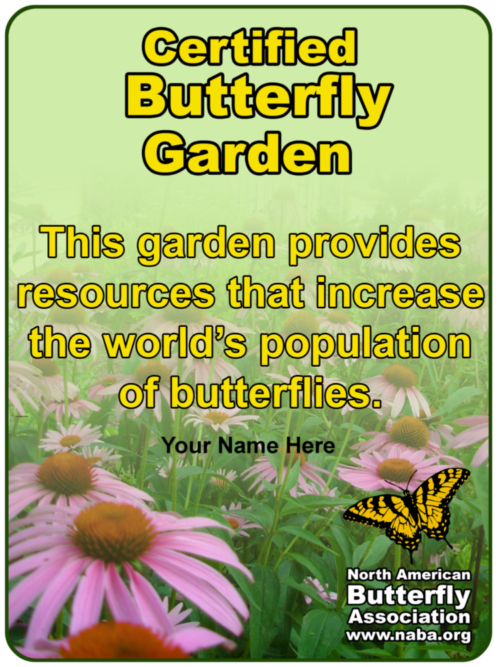 Certify Your Garden – North American Butterfly Association
